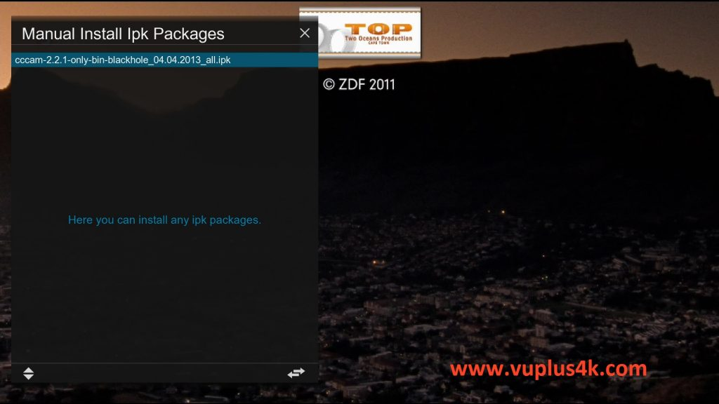 TUTORIAL] How to install CCcam on BlackHole – VUPLUS4K