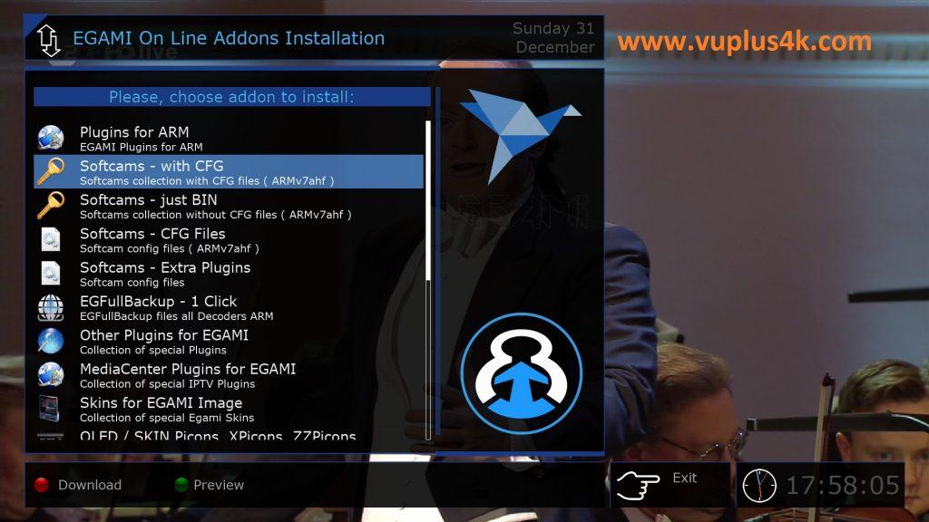 TUTORIAL] How to install NCAM on EGAMI – VUPLUS4K