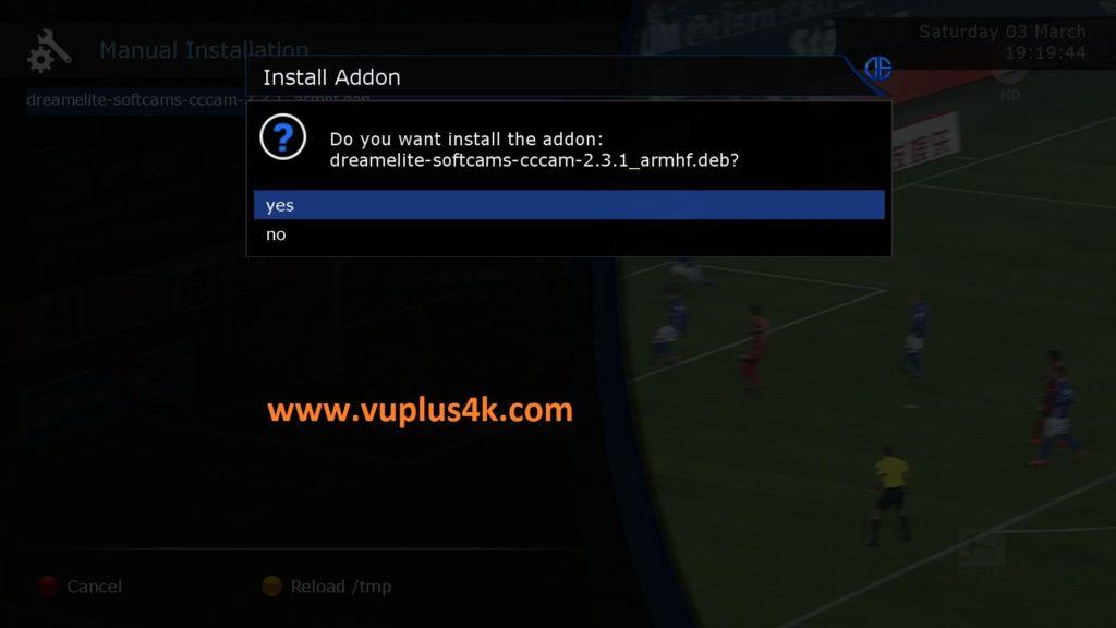 TUTORIAL] How to install CCcam on DreamELite (DM900-DM920) – VUPLUS4K