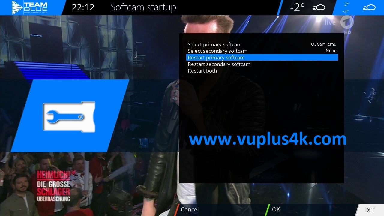 TUTORIAL] How to install OScam on TeamBlue (GIGABLUE) – VUPLUS4K