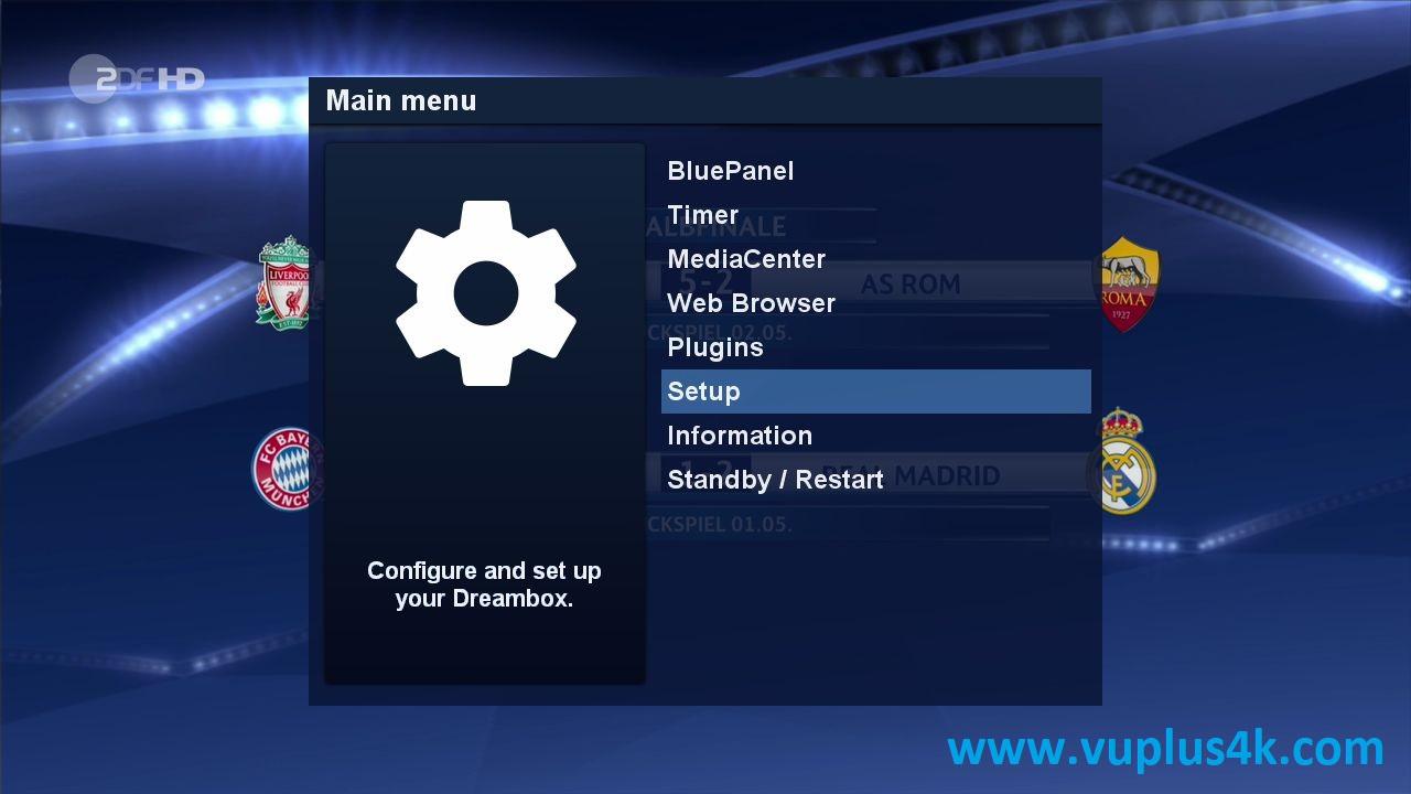 TUTORIAL] How to install CCCAM on GEMINI (DREAMBOX) – VUPLUS4K