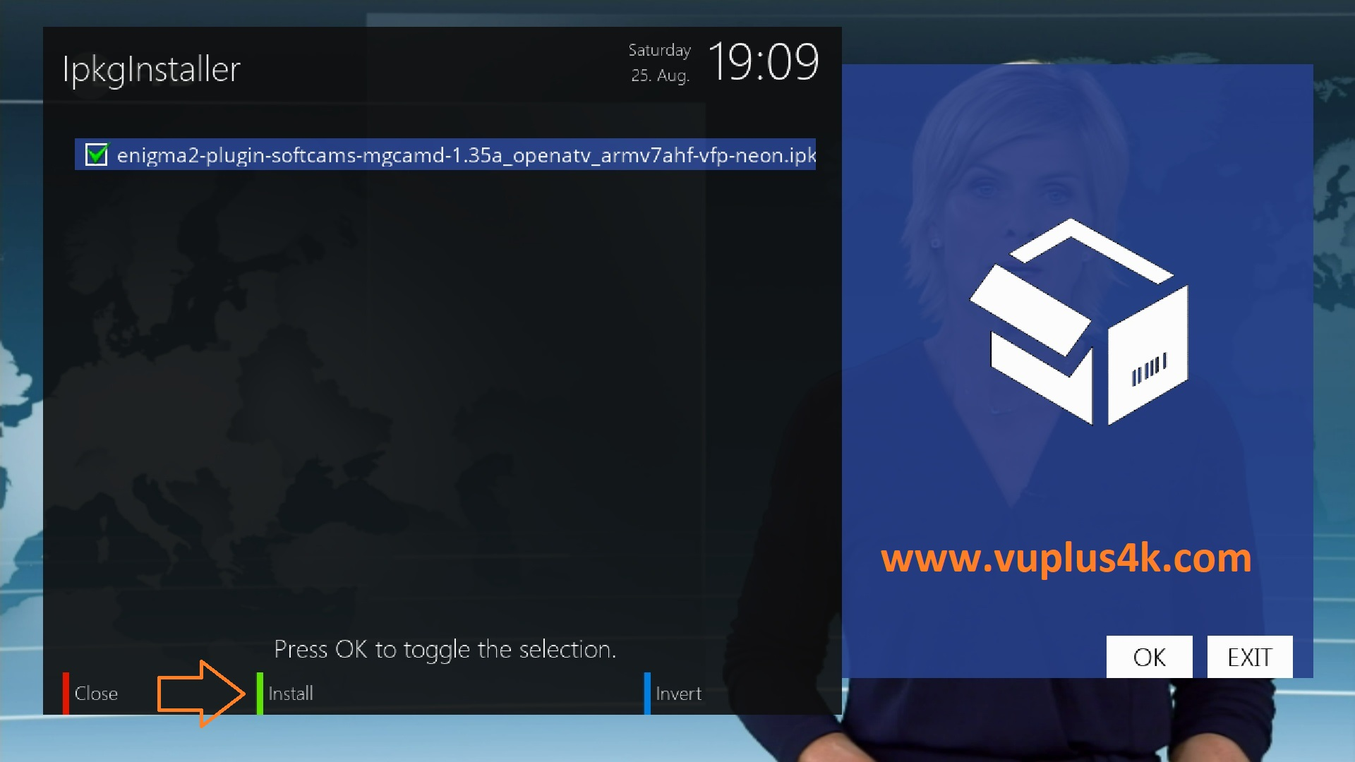 TUTORIAL] How to install MGcamd on OpenATV – VUPLUS4K