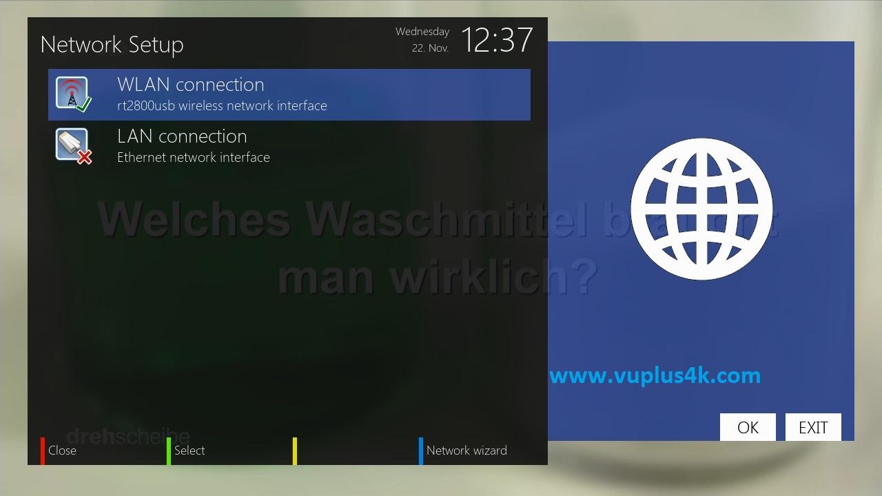 TUTORIAL] How to configure Wireless on OpenATV – VUPLUS4K