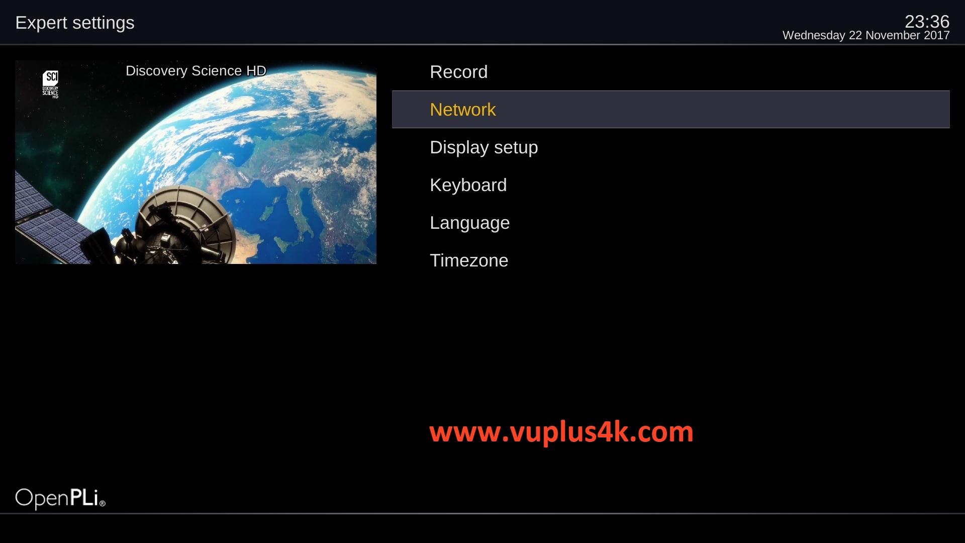 TUTORIAL] How to configure Wireless on OpenPLi – VUPLUS4K