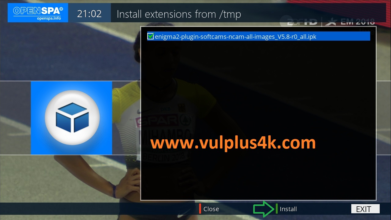 TUTORIAL] How to install NCAM on OpenSPA – VUPLUS4K