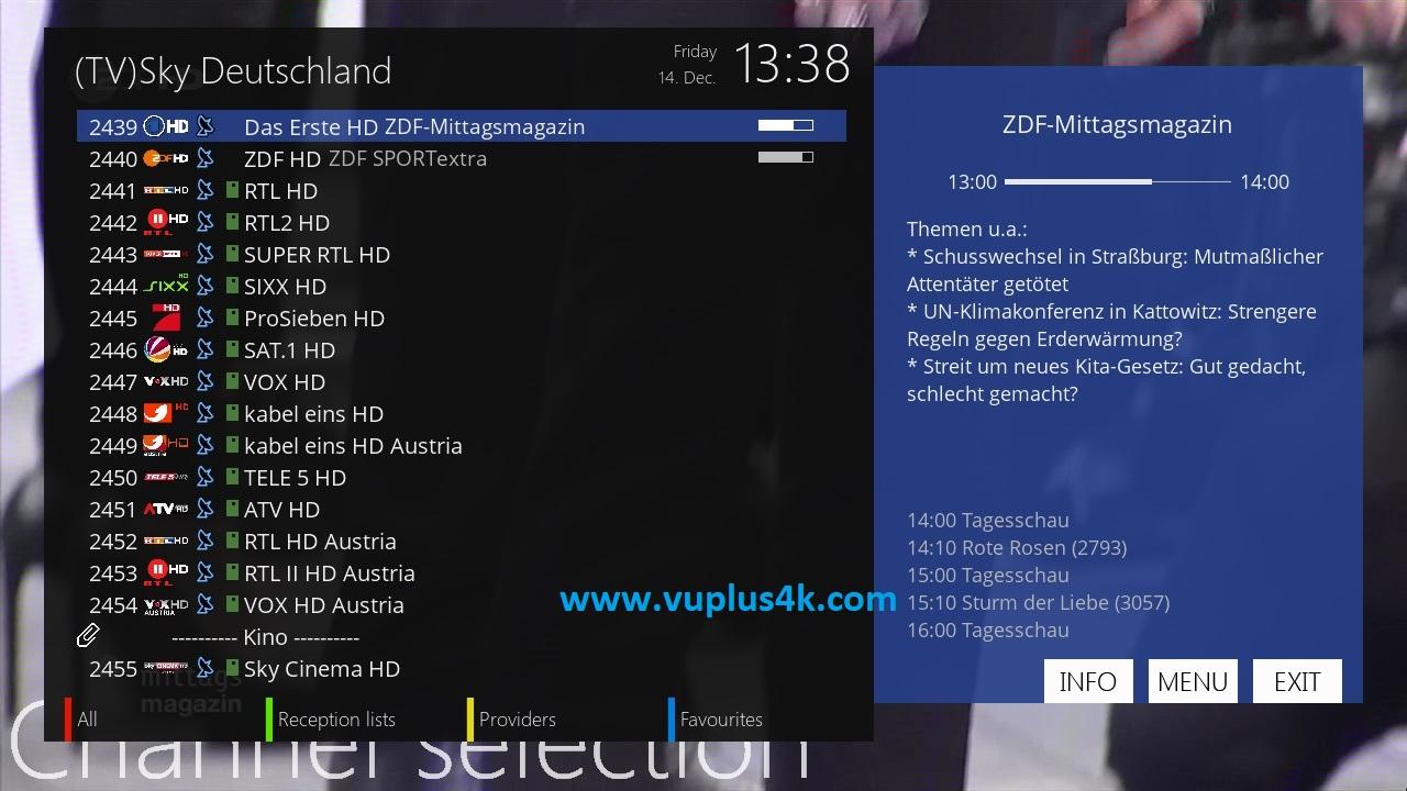 TUTO] How to install and configure picons on OpenATV – VUPLUS4K
