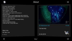 BLACKHOLE 3 0 9 Multistream – VUPLUS4K