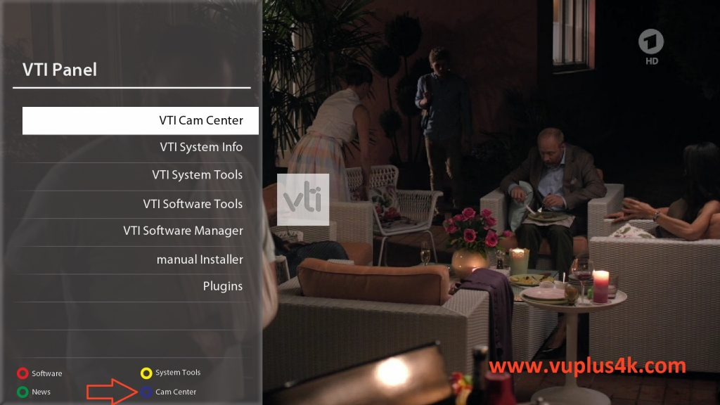 TUTO] How to install OSCAM on VTI | CCcam IPTV server